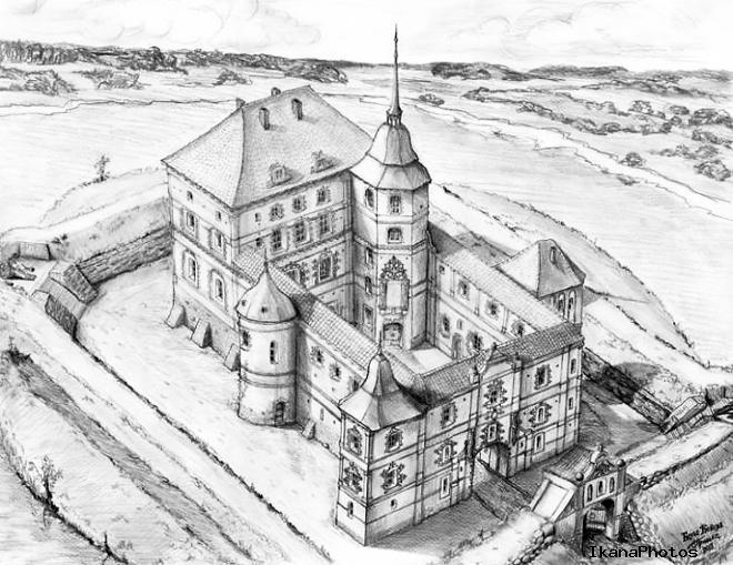 Смолянский замок реконструкция