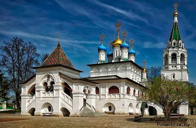 Храм Благовещения Богородицы Павловская Слобода Расписание богослужений