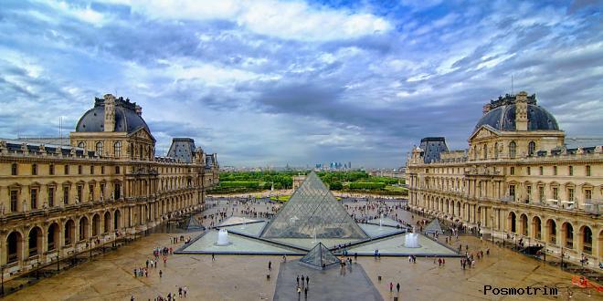Лувр история и строительство