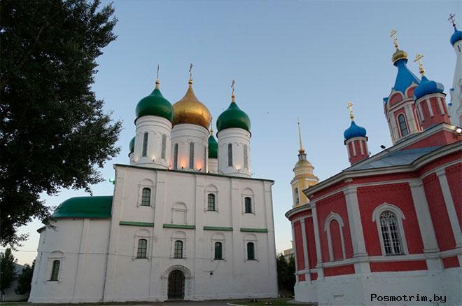 Успенский Кафедральный собор в Коломне сегодня