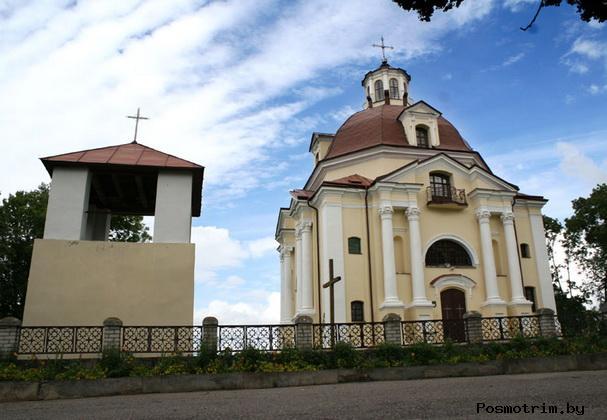 Костел Богоматери Шкаплерной  – Мядель