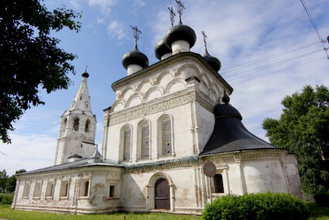Церковь Спаса Всемилостивого в Белозерске