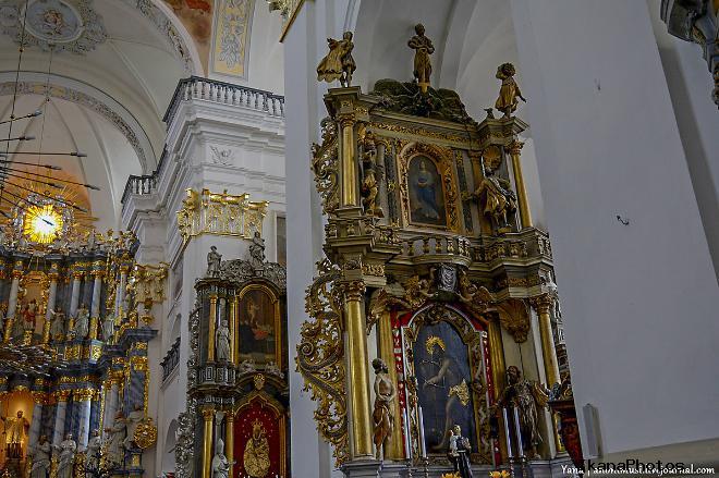 На башне костёла Старейшие в Европе часы