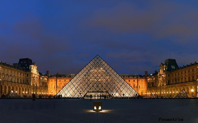 Лувр в Париже – дворец и величайший в мире художественный музей