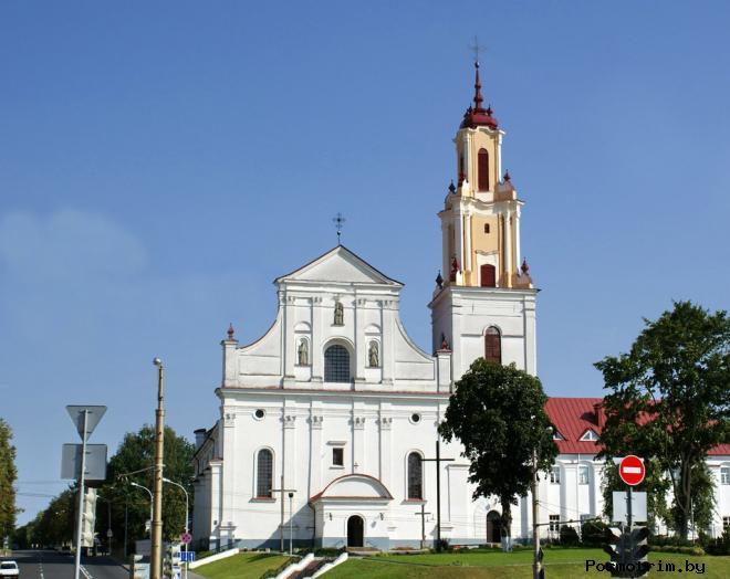 Костел Отыскания св. Креста Гродно