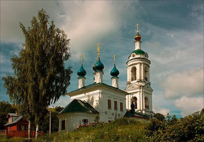 Варваринская церковь Плёс (Церковь Великомученицы Варвары)