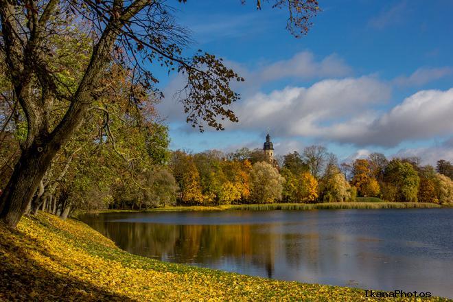 Несвижский парк история фото парка в Несвиже