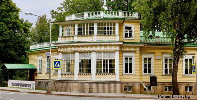 Дом Китаева - Пушкинская дача в Царском Селе