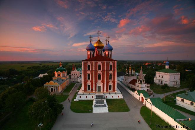 История Успенского собора Рязани