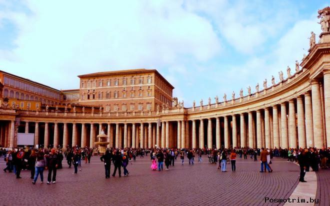 Апостольский дворец в Ватикане или Дворец Сикста V