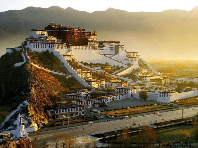 Дворец Потала Лхаса Тибет история фото описание