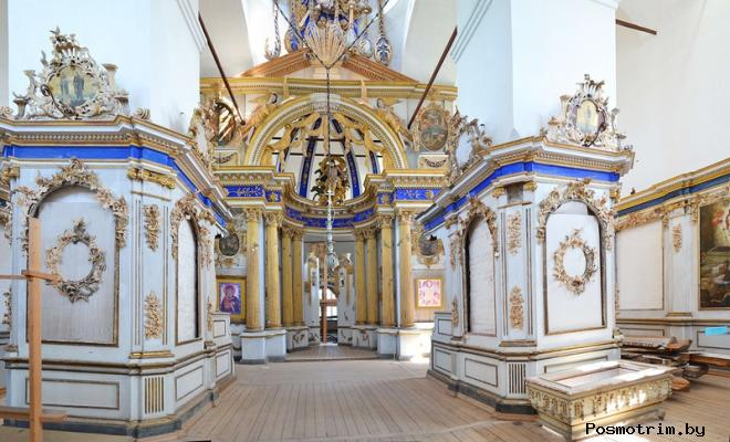 Интерьер Спасо-Преображенского собора Белозерска
