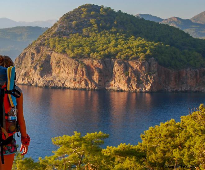 Ликийская тропа - пеший маршрут по Турции, карты маршрута и описание пути