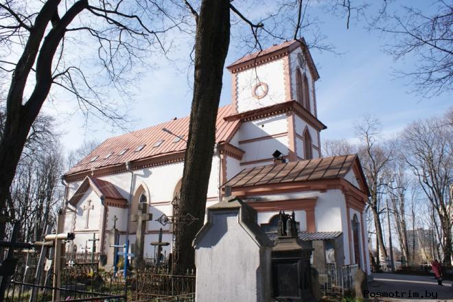 Крестовоздвиженский костел в Минске