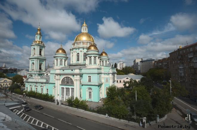 Архитектура Богоявленского собора в Елохово