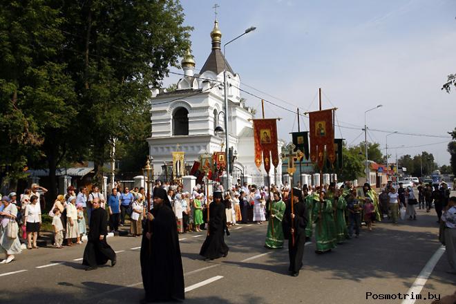 Крестные ходы в Саввино-Сторожевской обители