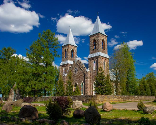 Костёл Святого Иосифа в деревне Рубежевичи