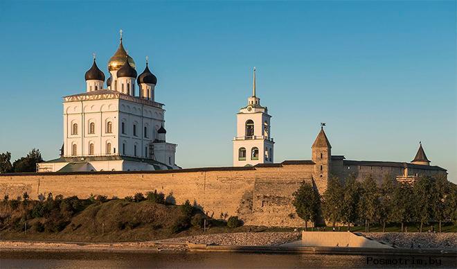 Архитектура Троицкого собора Пскова