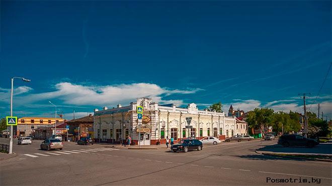 Ишим улица Луначарского (бывшая Малая Никольская)