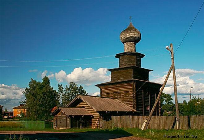 Ильинская церковь в Белозерске