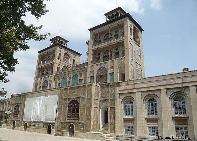 Дворец Голестан Тегеран Иран