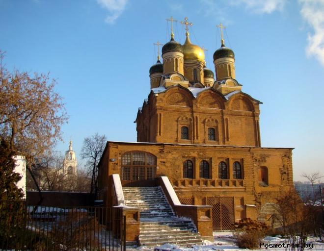 Знаменский монастырь Москва