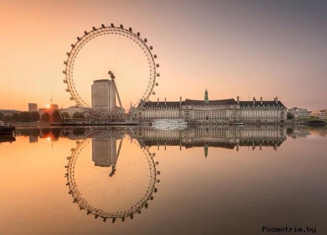 Лондонское колесо обозрения - Лондонский Глаз