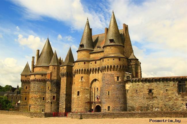 Замок Витре (Castle of Vitre) Франция