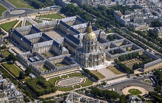 Дом Инвалидов в Париже (L'hôtel national des Invalides)