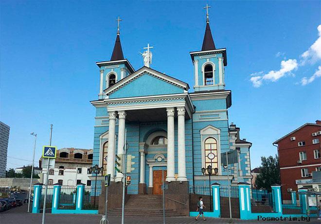 Католический храм Воздвижения Святого Креста Казань