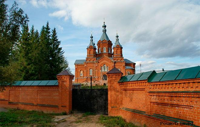 Богородице-Тихоновский Тюнинский монастырь Задонск