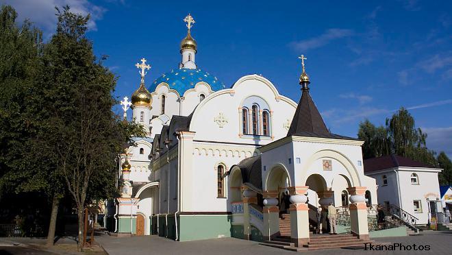 Храмы Свято-Елисаветинского женского монастыря в Минске