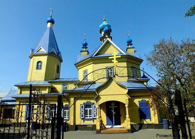 Покровская церковь Ишим