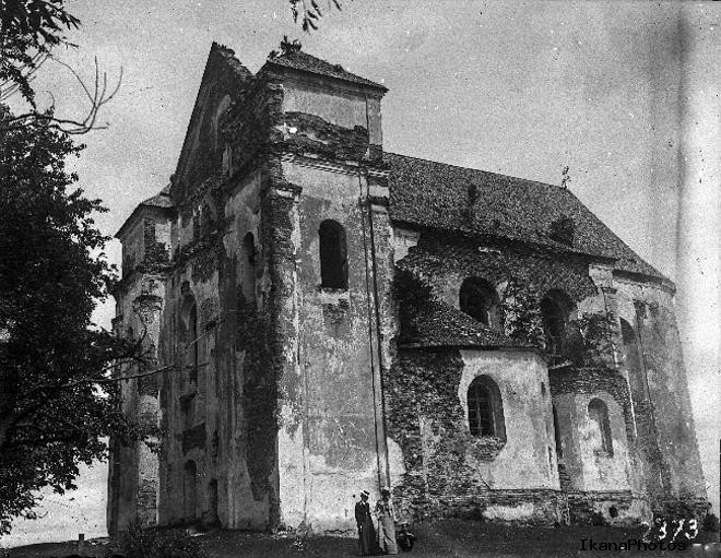 История костела Преображения Господнего в Новогрудке