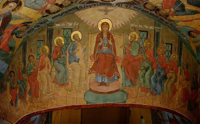Фрески храма Иоанна Богослова в Костроме