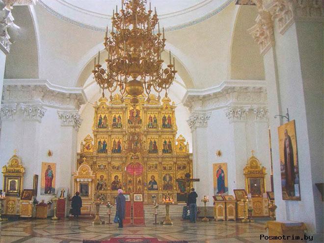 Интерьер Спасо-Преображенского собора Рыбинска