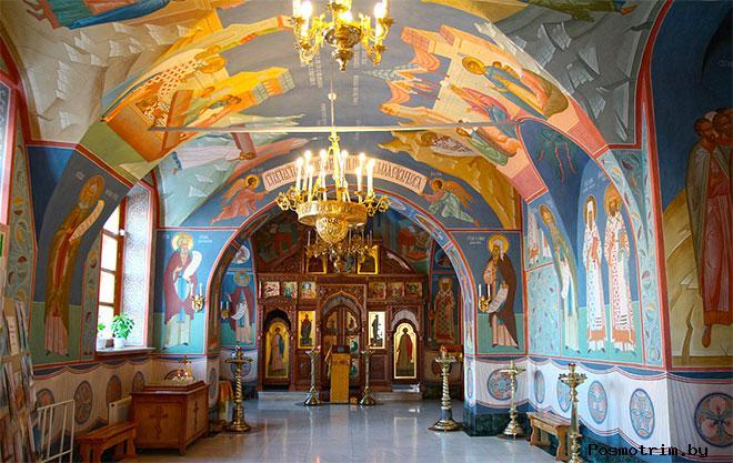 Интерьер Софийско-Успенского собора Тобольска