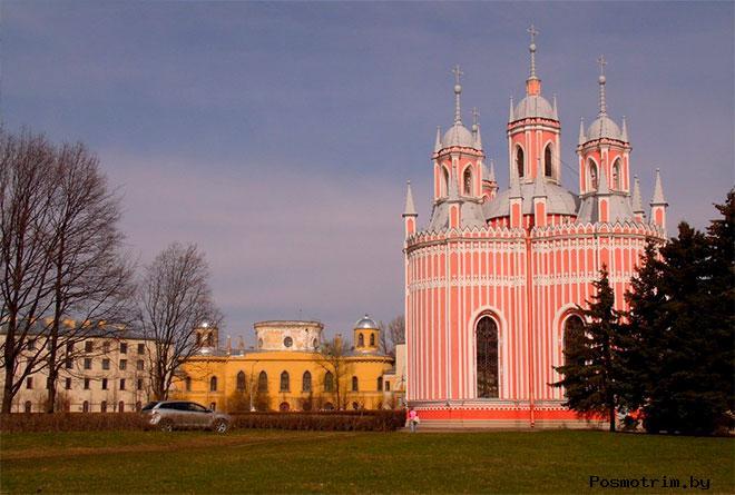Чесменский дворец и Чесменский храм Санкт-Петербург