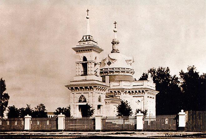 История Смоленского храма Ивантеевки