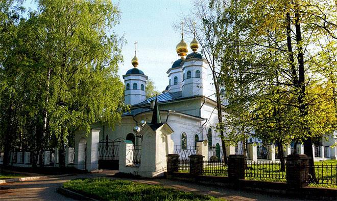 История Воскресенского собора в Череповце