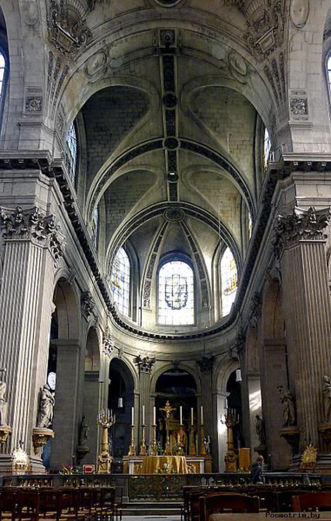 Описание церкви Сен-Сюльпис