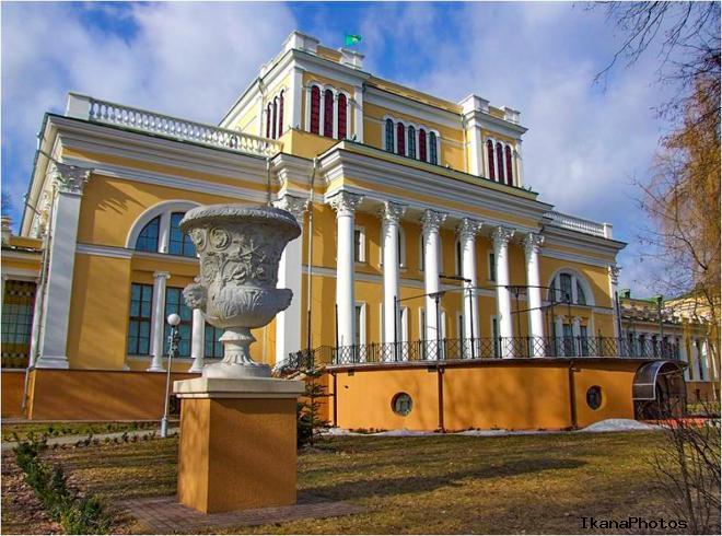 Дворцово-парковый ансамбль Румянцевых-Паскевичей в Гомеле главные экспонаты
