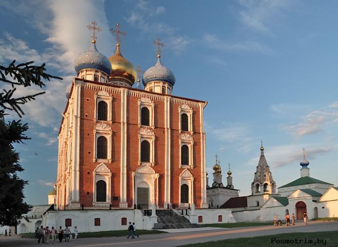 Архитектура Успенского собора в Рязани