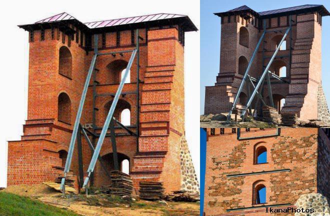 Так выглядит консервация Новогрудского замка по «Беларуску»