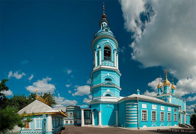 Архитектура Богоявленской церкви Коломны