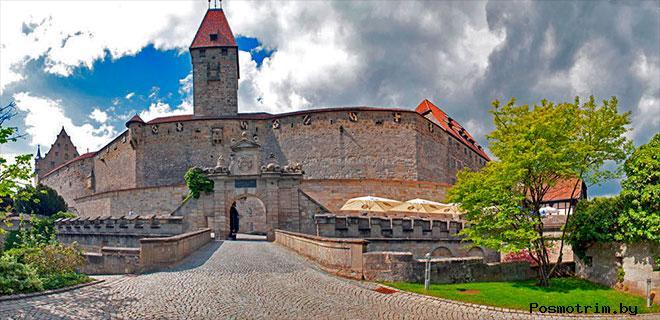 Крепость Фесте Кобург Бавария