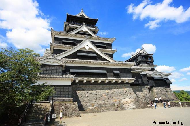 Замок Кумамото Япония