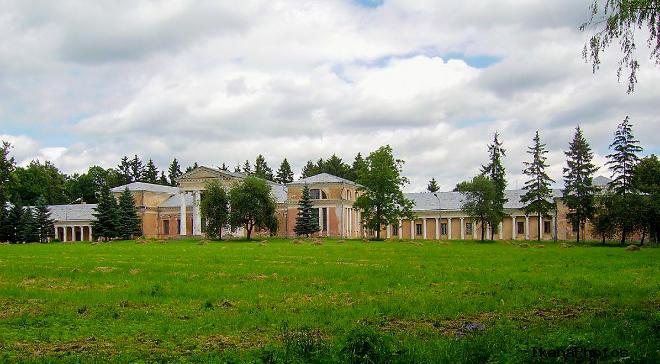 Сновский дворец Рдултовского архитектура дворца и парка