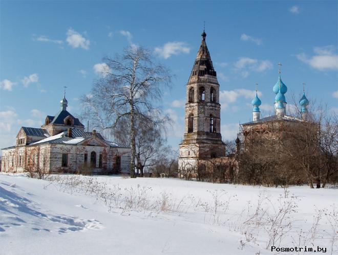 Село Введенье Шуйского района Ивановской области