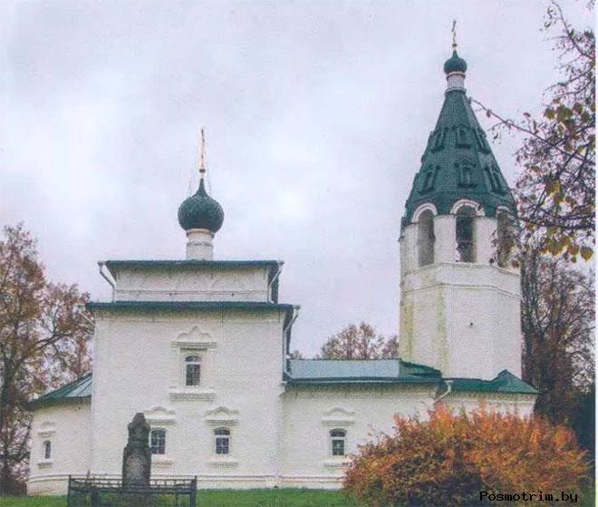 Ильинская церковь Палех